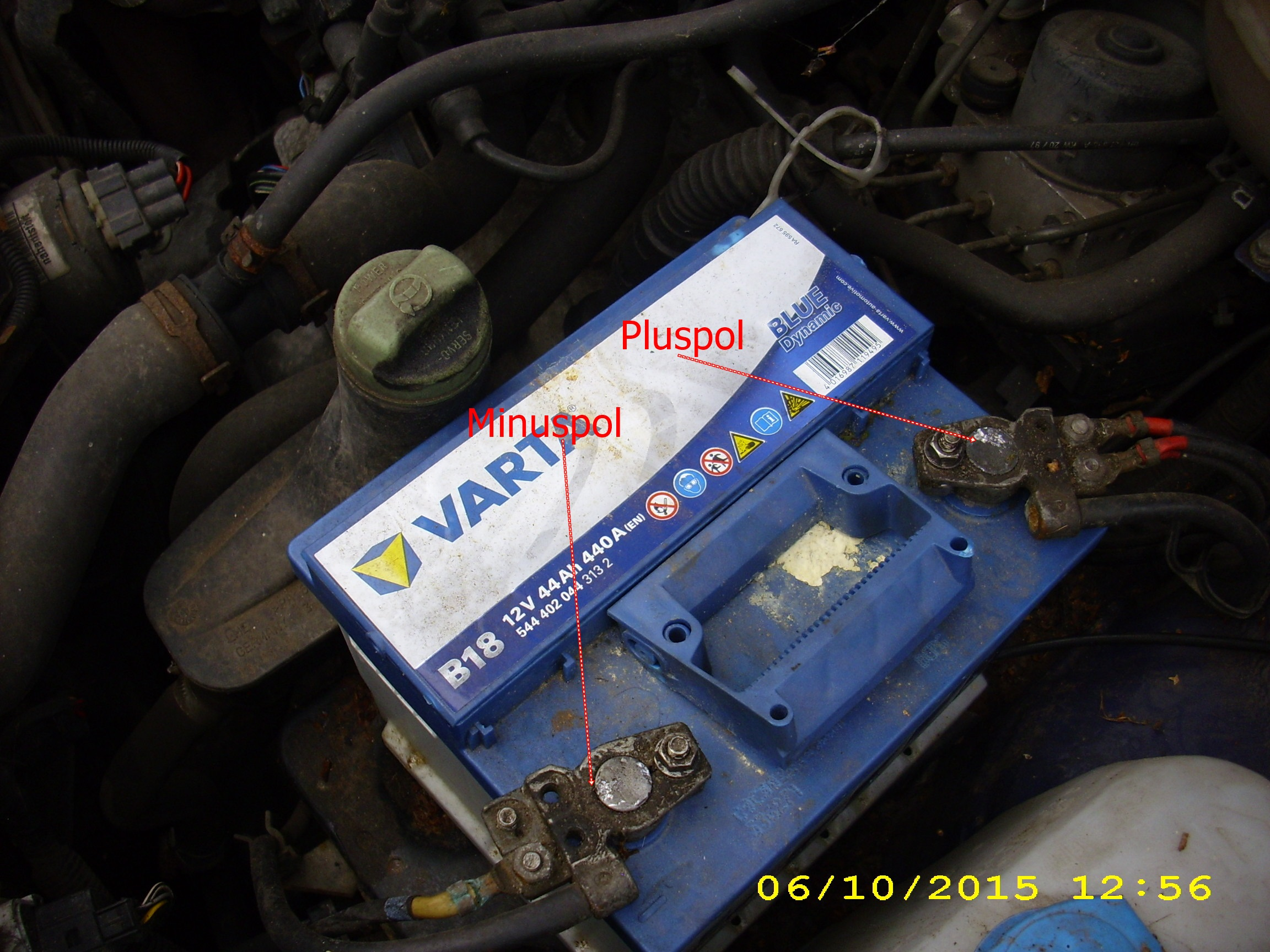 VW Golf 4 Batterie